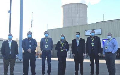 Legislators Tour Byron Nuclear Plant